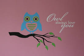 Birdowl Wall Decals Stickers Owl Always Love You Vinyl Wall Graphic