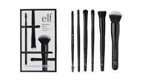 free e l f makeup brushes set after