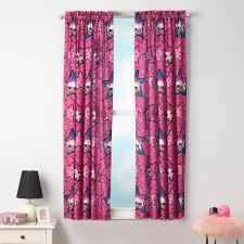 L O L Surprise Kids Bedroom Curtain Panel Set Set Of 2 63 Inch L Walmart Com Walmart Com
