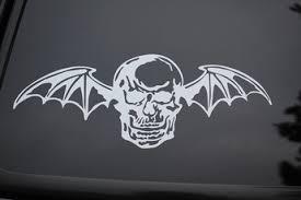 Avenged Sevenfold Vinyl Sticker Decal V125 Choose Color Rock Metal Trivium Wish
