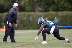 Duce Staley says the Eagles don't need to add a veteran RB