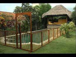 Pool Fence Ideas Landscaping Fences For Outdoor Youtube