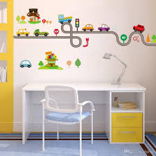 Cartoon Cars Highway Track Wall Stickers For Kids Rooms Sticker Childrens Play Room Bedroom Decor Wall Art Decals Custom Wall Stickers Customized Wall Decals From Qiansuning888 17 81 Dhgate Com