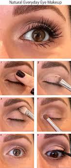 everyday natural eye makeup look in 6