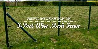 Useful Information On T Post Wire Mesh Fence Anping Wire Mesh Blog Wire Mesh Fence Mesh Fencing Wire Mesh