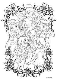 Kleurplaat Disney Fairies Kleurplaten Fee Kleurplaten Disney
