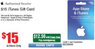 15 itunes gift card for 12 50