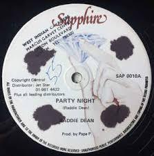 Raddie Dean - Party Night (Vinyl) | Discogs