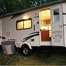 Custom Rv Decal Style 11004 Welcome To Our Camper Camping Decor Rv Decals Car Camping