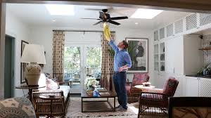 How To Clean A Ceiling Fan Without A Ladder Hunter Fan