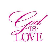 God Is Love Vinyl Decal Large Hot Pink Walmart Com Walmart Com