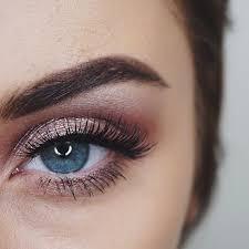 prom makeup eye make up guide blue