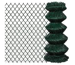 Patio Chain Link Fence Rolled Roll Wire Mesh Garden Outdoor Border Sizes Opt Ebay