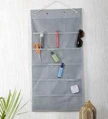 nylon 36 pockets grey mesh pocket