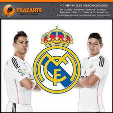 Kit Imprimible Real Madrid Facebook