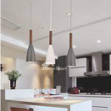 mini pendant lights metal wood hanging