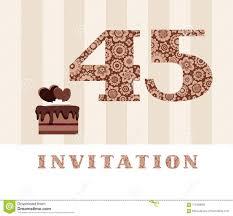 La Invitacion 45 Anos Torta De Chocolate En Forma De Corazon