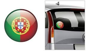 Portuguese Flag Decal 4 1 2in Party City