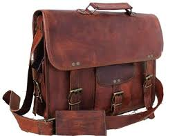 best brown leather messenger bags mens