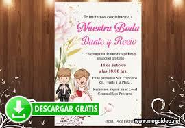 Invitacion De Boda Divertida Gratis Mega Idea