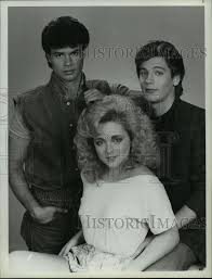 1985 Press Photo Jane Krakowski and Adam Storke in Search for Tomorrow |  Historic Images