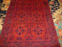 3 3 x 5 dark red afghan rug sold