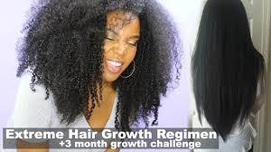 extreme hair growth regimen how i