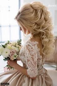 تسريحات شعر طويل لعروس 2018 Wedding Hair Inspiration Wedding