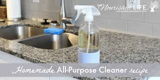 natural diy all purpose cleaner that