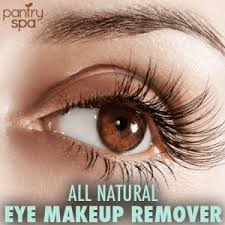 eye makeup remover natural home remedy