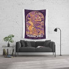 Indiana Jones Movie Wall Tapestry By Yuvalfaerman Society6
