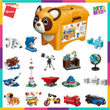 Chính Hãng] Bộ Đồ Chơi Xếp Hình Thông Minh Lego Qman Chú Gấu Sáng Tạo 2906  Cho Trẻ giảm chỉ còn 439,000 đ