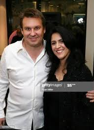 Tokidoki Co-Owner Ivan Arnold and Tokidoki COO Pooneh Mohajer pose... News  Photo - Getty Images