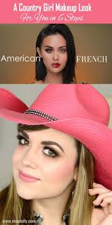 a country makeup look for you in 6