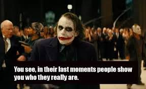 quotes by the joker heath ledger