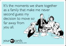 it s the moments we share together as a family that make me never