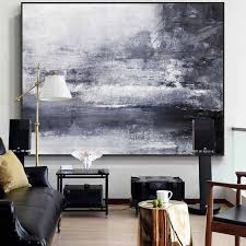 large abstract painting landscape