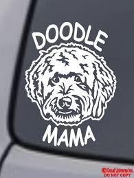 Doodle Mama Vinyl Decal Sticker Window Wall Bumper Goldendoodle Labradoodle Dog Ebay