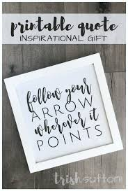 graduation quote printable celebration decor and gift for grads
