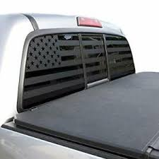 Usa Flag Decal For Toyota Tacoma Rear Window 2005 2019 Double Cab Trd Pro Tp3 Ebay