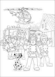Brandweerman Sam Kleurplaten Voor Kinderen Kleurplaat En