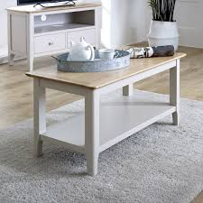 grey coffee table devon range