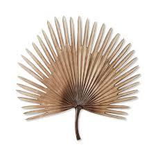 home republic palm natural fan wall art