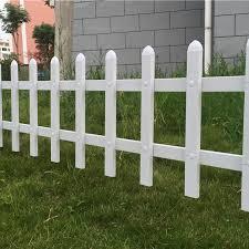 white pvc vinyl plastic garden picket