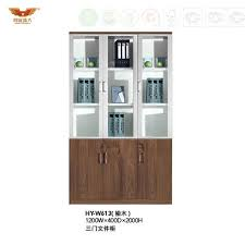 file cabinet bookcase with glass doors