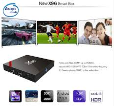 X96 X96W Android 7.1 TV Box WiFi S905W smart tv box android 2GB ...