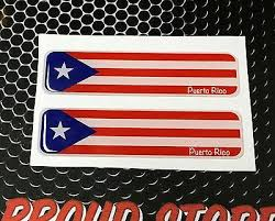 Collectibles Transportation Automobilia Puerto Rico Car Decal Sticker Fire With Puerto Rican Flag 9 Transportation Zsco Iq