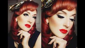 old hollywood full face makeup tutorial