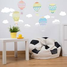Hot Air Balloon Fabric Wall Decal Peel And Stick Removable And Reposi Royalwallskins