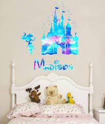 Disney Castle Wall Decal Castle Disney Castle Decal Disney Etsy